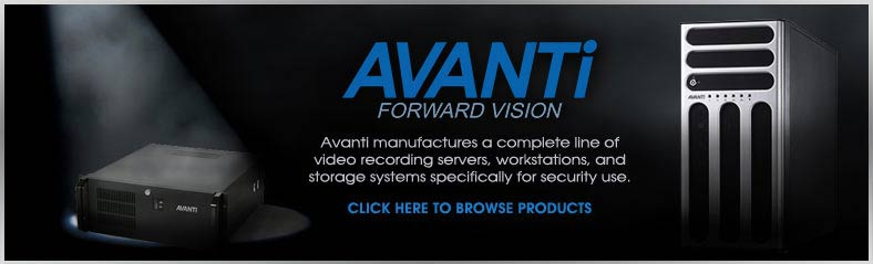 Avanti Recording Servers