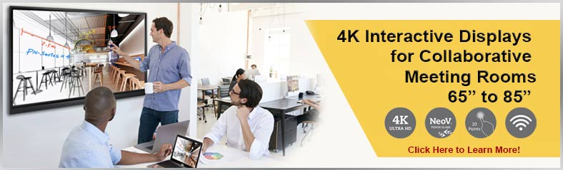 4K Interactive Monitors