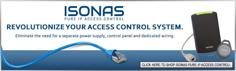 ISONAS PURE IP Access Control