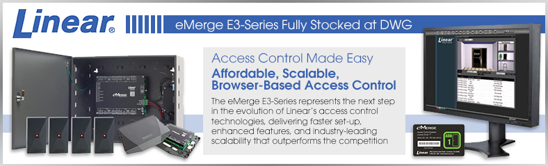 Linear E3 Series Access Control