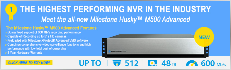 Milestone Husky M500 Advanced NVR