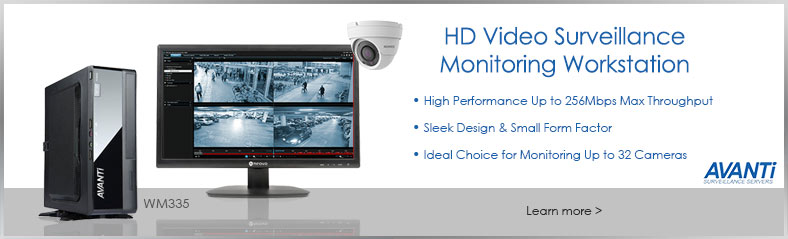 Avanti WM335 Surveillance Monitoring Workstation